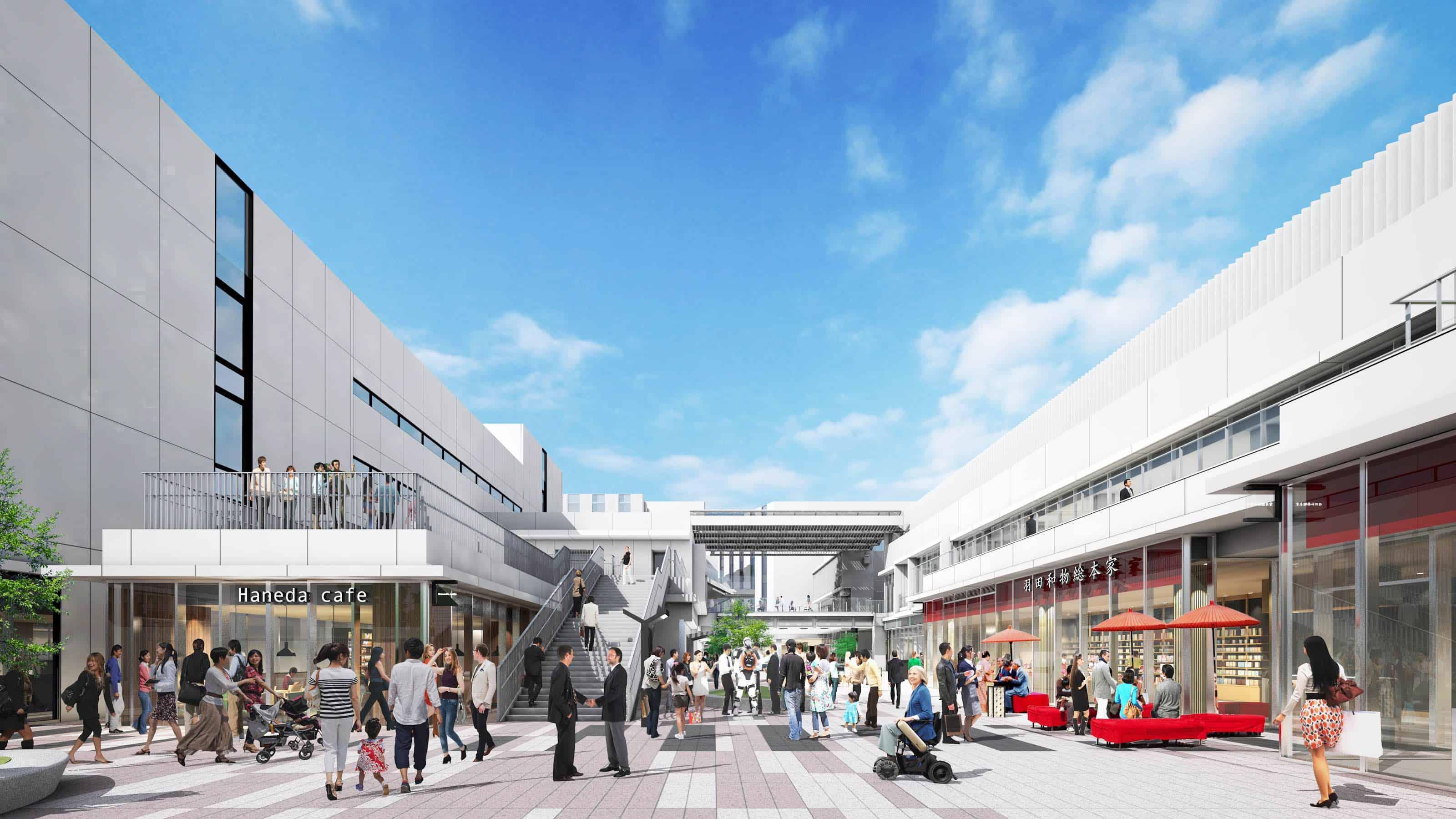 ที่เที่ยวเปิดใหม่ Tokyo 2020 - ฮาเนดะ อินโนเวชั่นซิตี้ (HANEDA INNOVATION CITY)