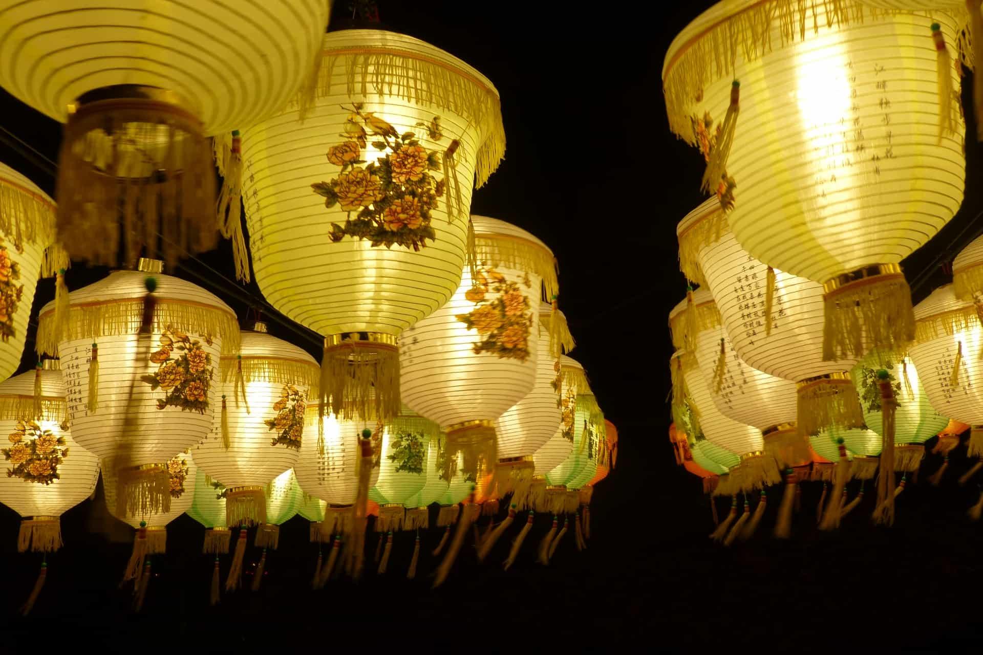 เทศกาลโคมริวกิว (Ryukyu Lantern Festival) โอกินาว่า