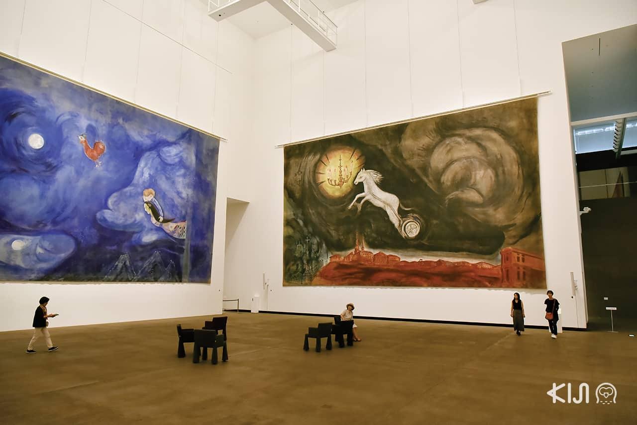ผลงานของ Marc Chagall ที่ AomoriMuseum of Art