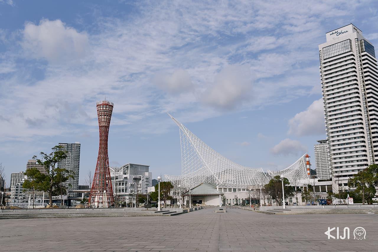 เที่ยว KOBE HIMEJI OTSU : Kobe Port Tower