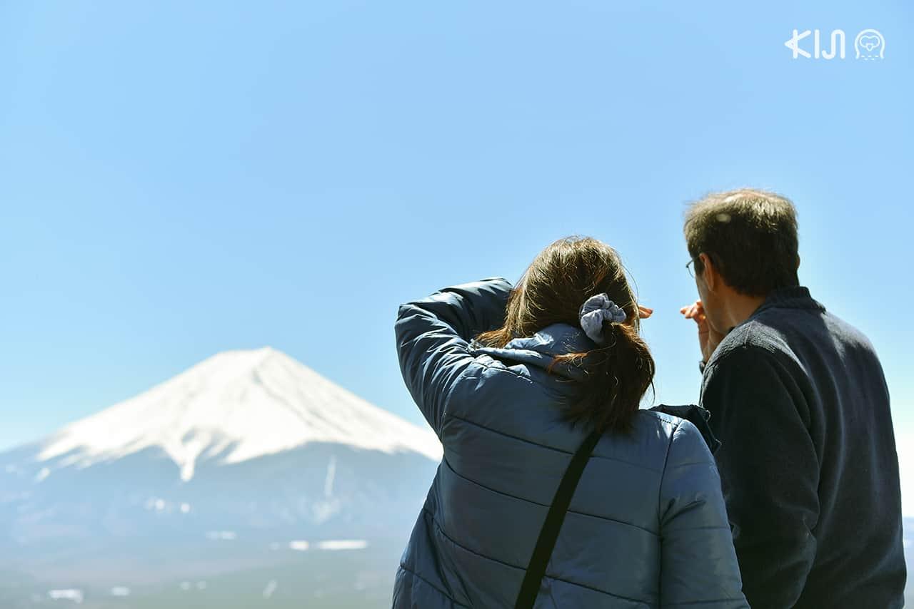 ชมภูเขาไฟฟูจิ - Mt. Fuji Panoramic Ropeway