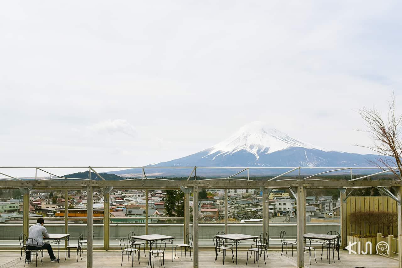 จุดชมภูเขาไฟฟูจิ - Mt. Fuji Station Viewing Deck