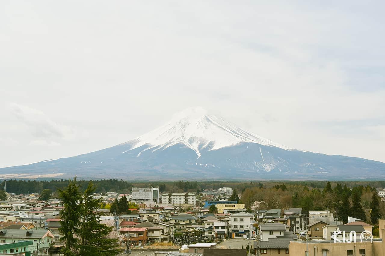 จุดชม ภูเขาไฟฟูจิ - Mt. Fuji Station Viewing Deck