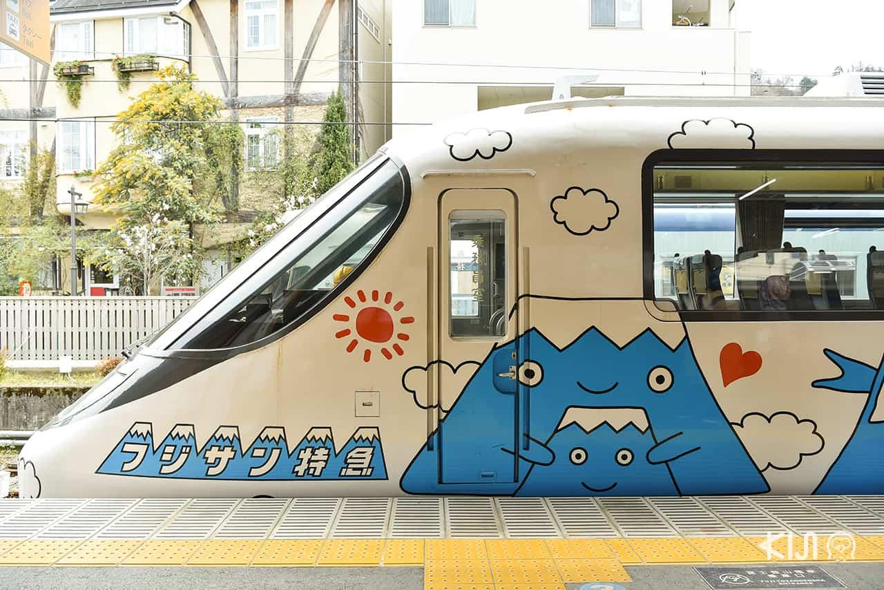 รถไฟด่วนขบวน Fujisan Express