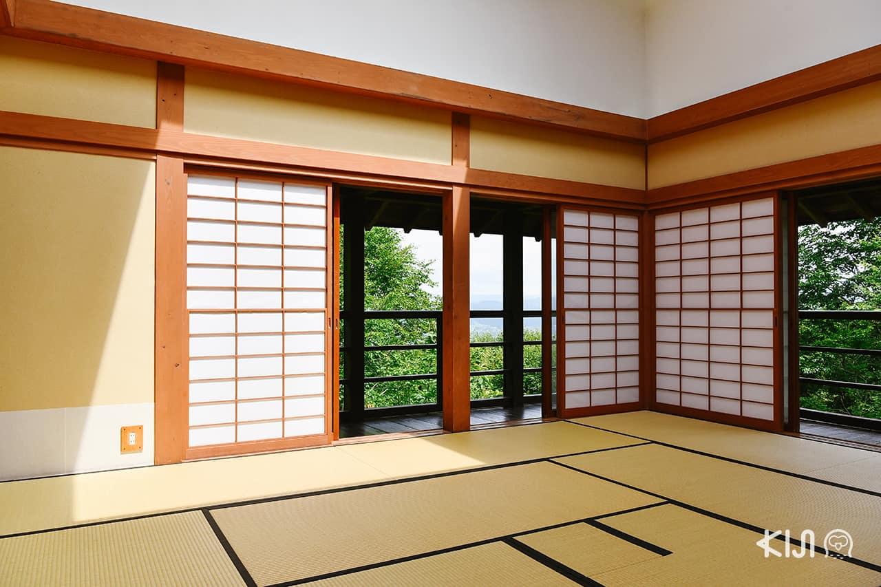 Echigo-Tsumari Art Field : บรรยากาศภายในบ้าน House of Light