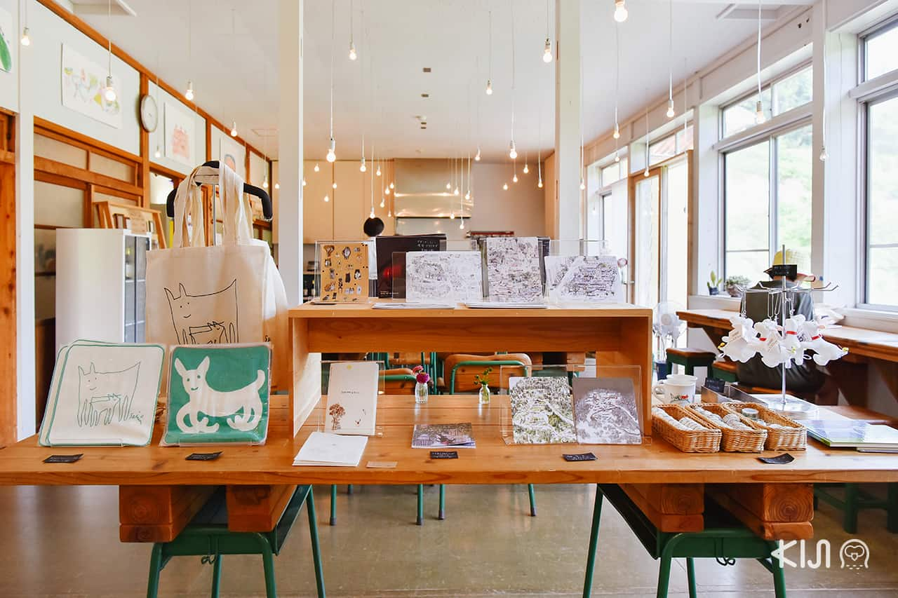 จุดขายของที่ระลึก Hachi & Seizo Tashima Museum of Picture Book Art