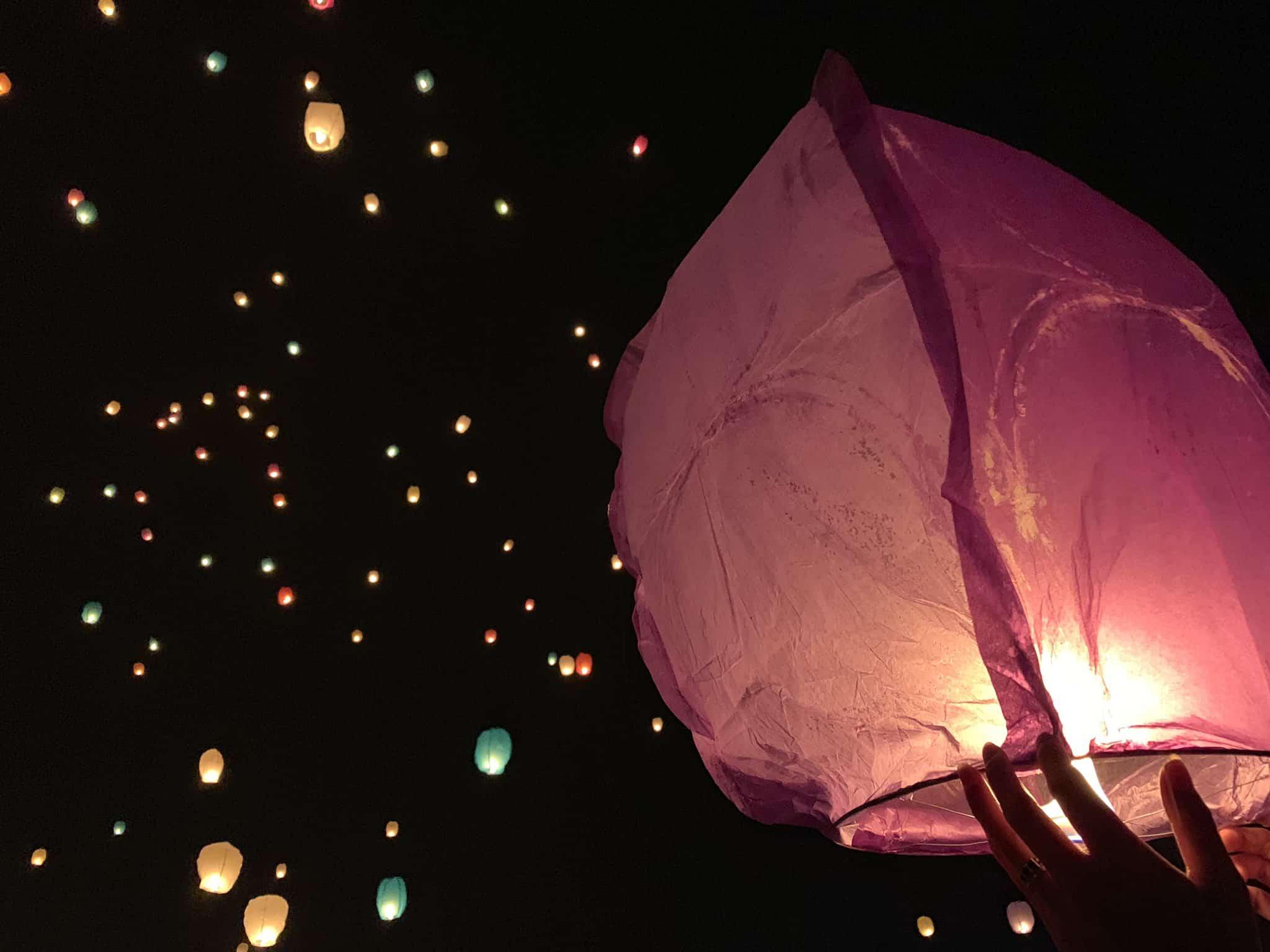 เทศกาลปล่อยโคม ญี่ปุ่น 2020 - เทศกาลโคมลอยสกายไลท์ (SKY LIGHT)