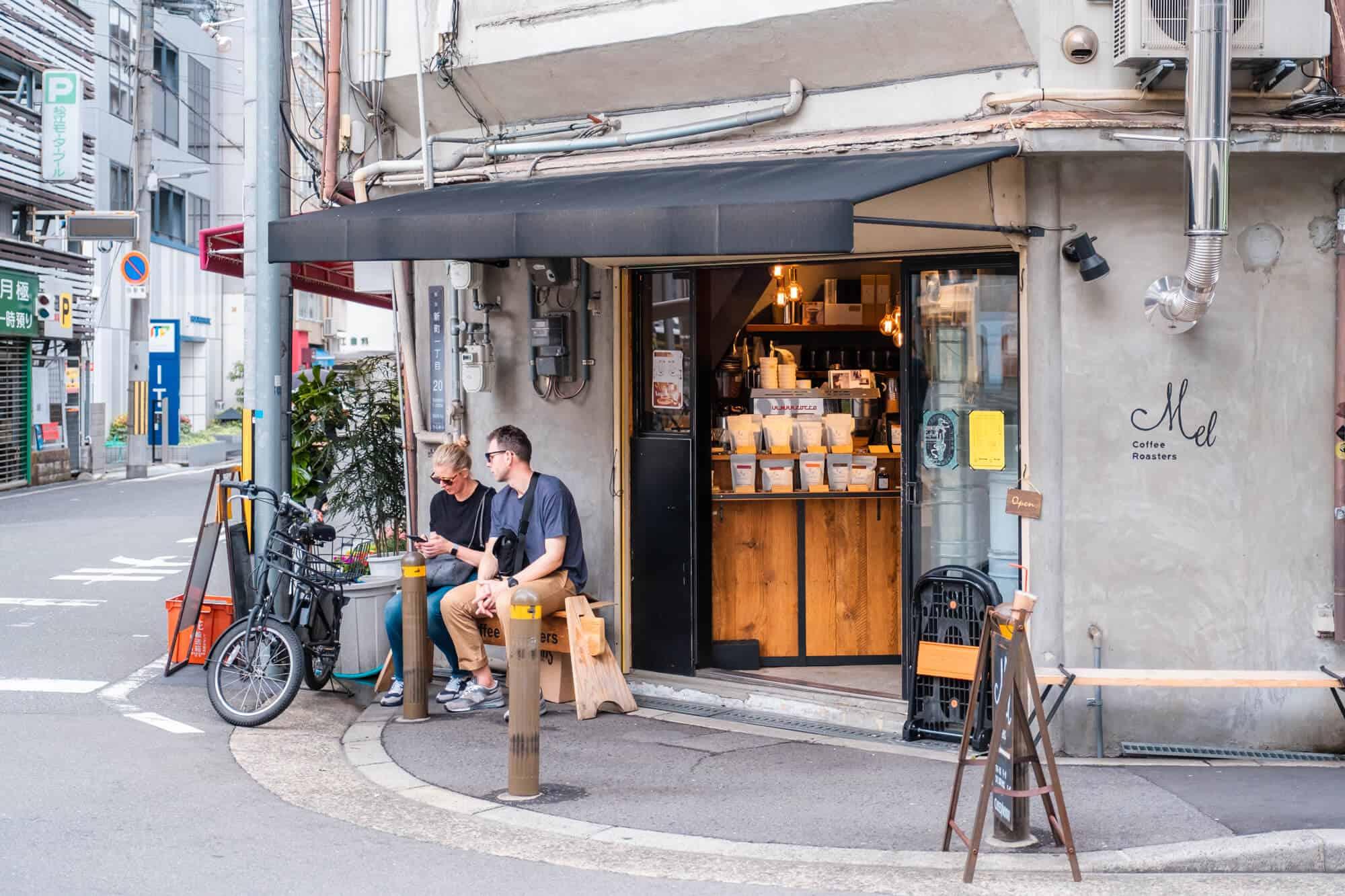 ร้านกาแฟ คาเฟ่ ใน โอซาก้า - Mel Coffee Roasters