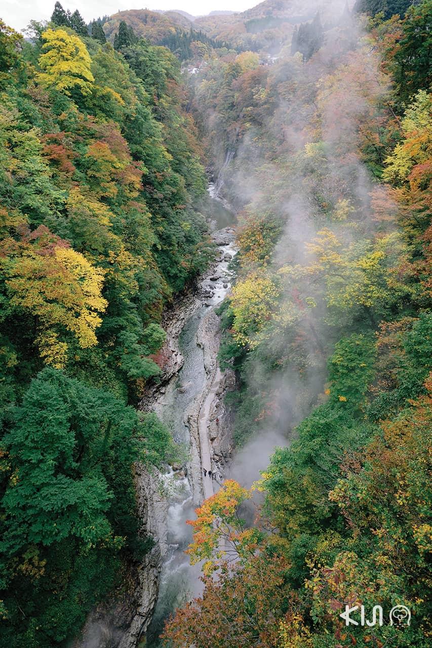 เที่ยว หุบเขาโอยาสุ (Oyasu Valley)