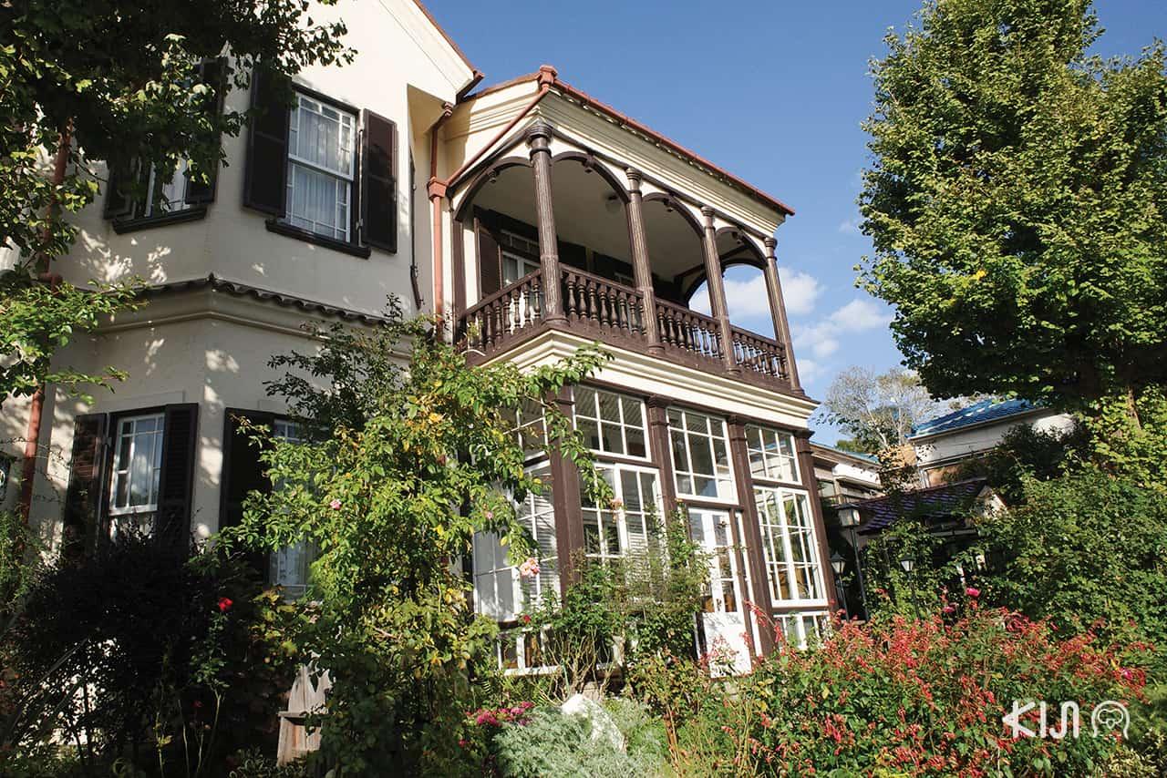 เที่ยวโกเบ English House