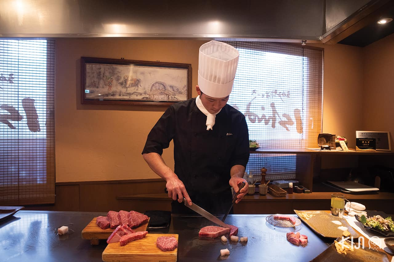 ร้านอาหาร KOBE HIMEJI OTSU : Kobe Steak Ishida