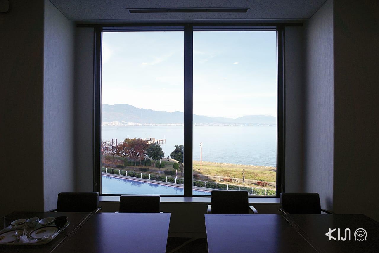 โรงแรรมในโอตสึ (Otsu) : Lake Biwa Otsu Prince Hotel