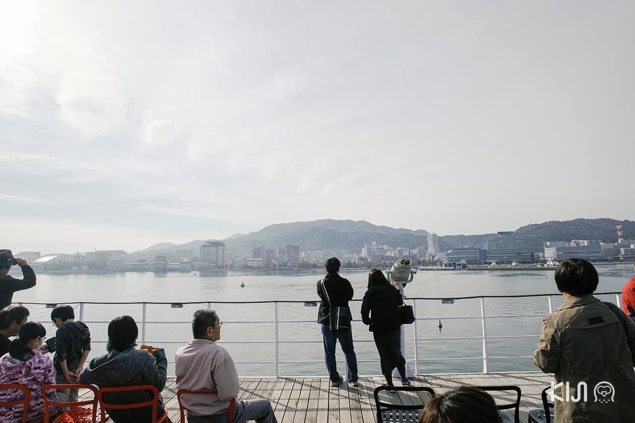 เที่ยว โอตสึ (Otsu)โกเบ(Kobe) ฮิเมจิ (Himeji) : Michigan Cruise