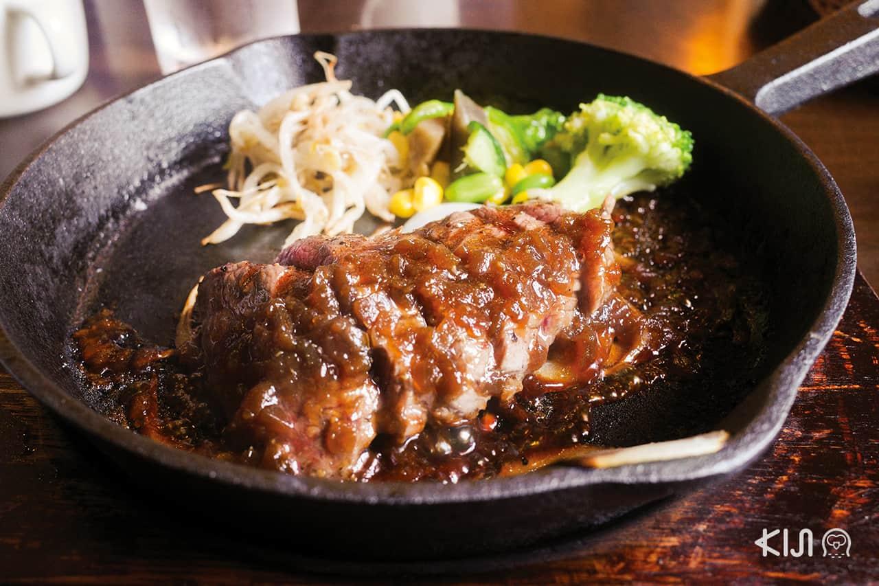 ร้านอาหารในโอตสึ (Otsu)โกเบ(Kobe) ฮิเมจิ (Himeji) : Niku Bar Modern Meal