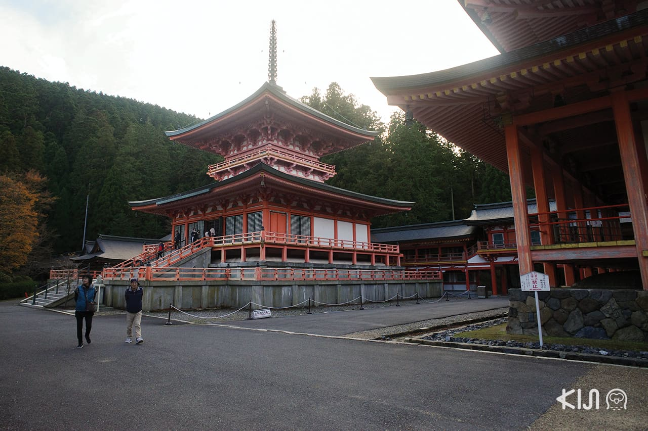 เที่ยว โอตสึ (Otsu)โกเบ(Kobe) ฮิเมจิ (Himeji) : Hieizan Enryaku-ji Temple