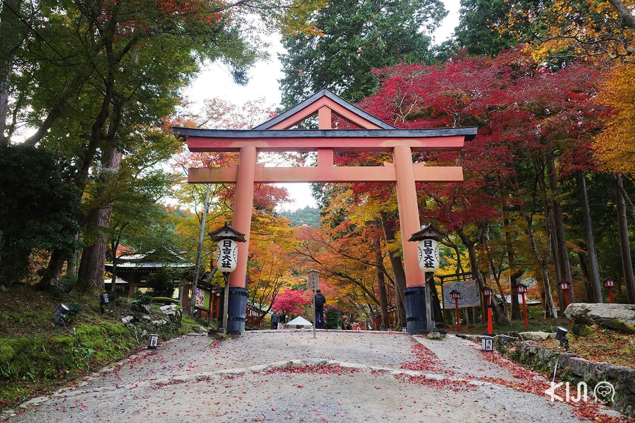เที่ยว โอตสึ (Otsu)โกเบ(Kobe) ฮิเมจิ (Himeji) : Hiyoshi Taisya Shrine