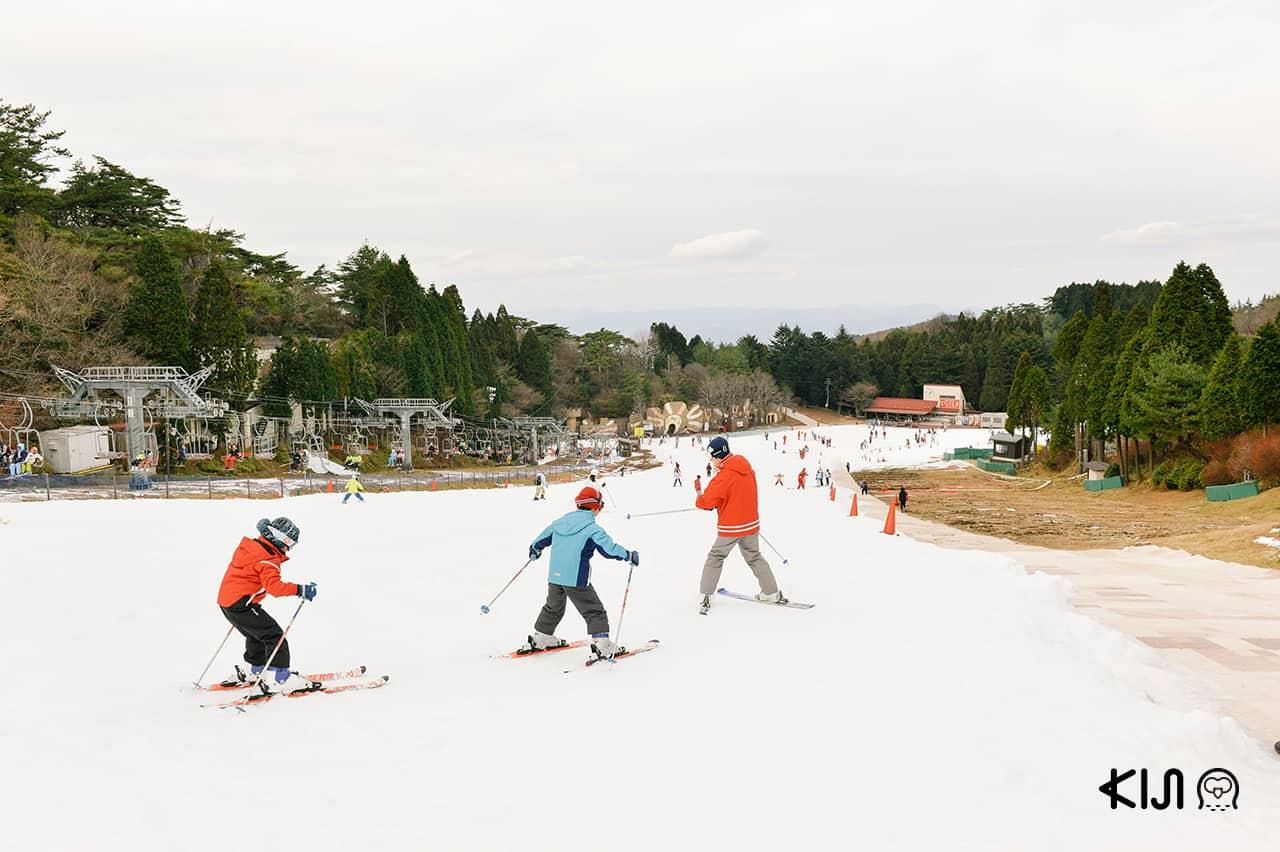 เที่ยว KOBE HIMEJI OTSU : Mt. Rokko Snow Park