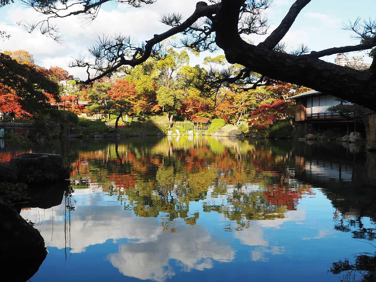 เที่ยว KOBE HIMEJI OTSU : Sorakuen Garden
