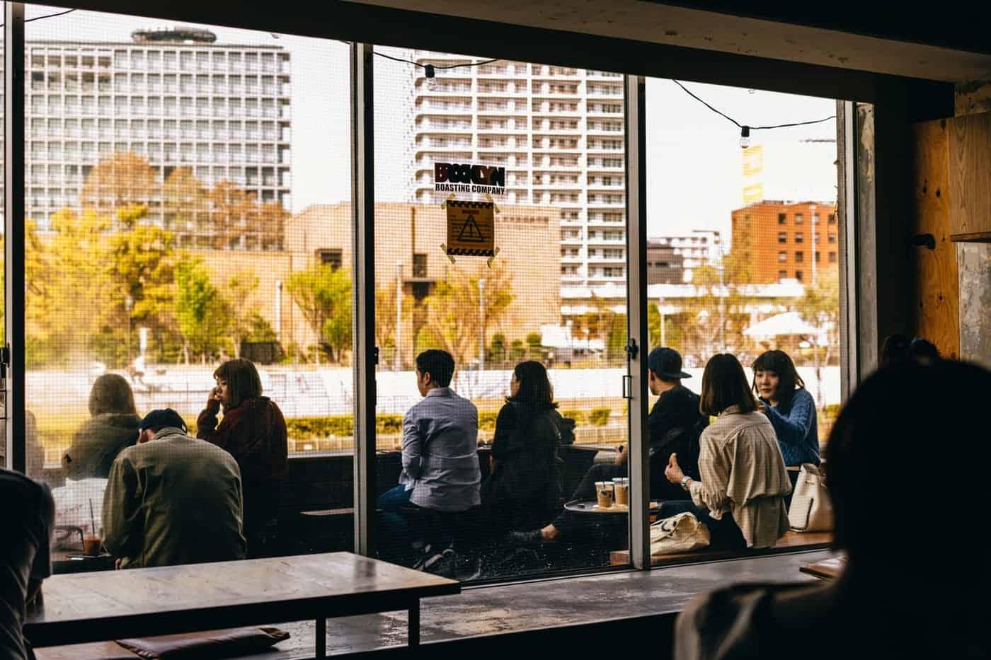 ร้านกาแฟ คาเฟ่ ใน โอซาก้า - Brooklyn Roasting Company Kitahama