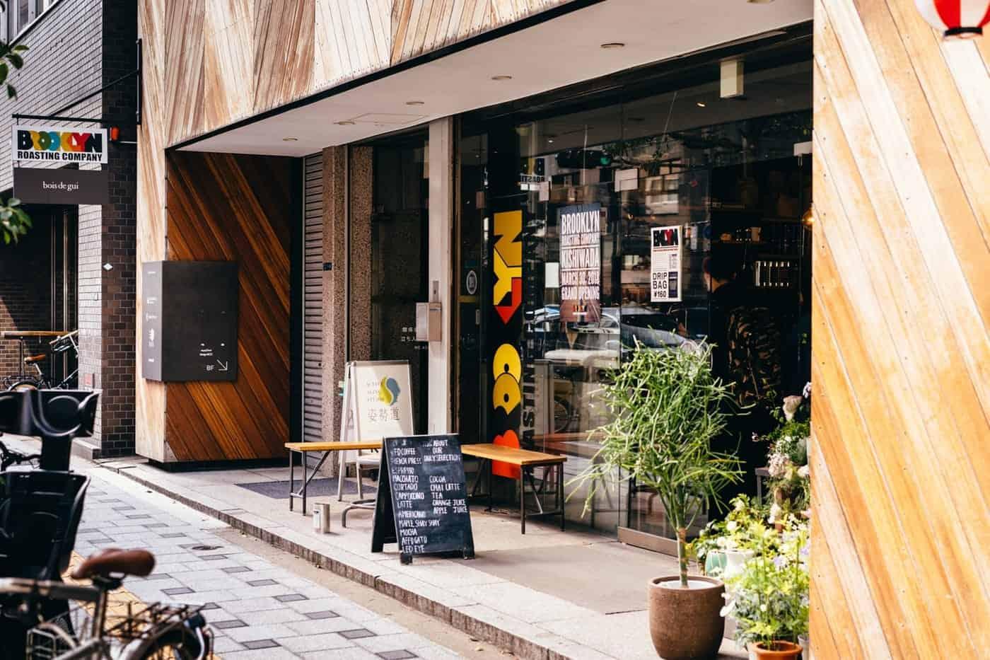ร้านกาแฟในโอซาก้า - Brooklyn Roasting Company Kitahama