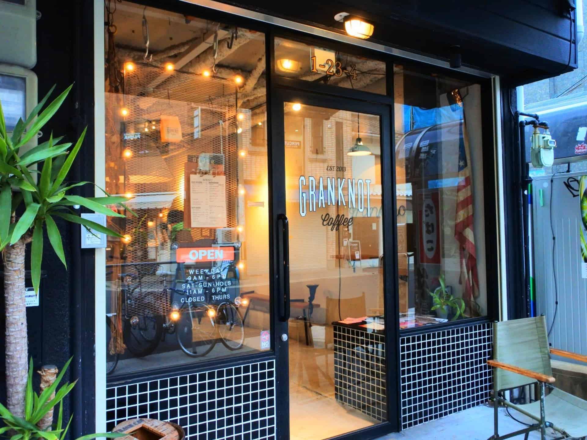 ร้านกาแฟ คาเฟ่ ใน โอซาก้า - GRANKOT coffee