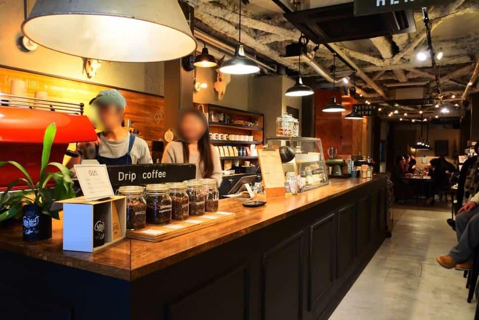 ร้านกาแฟในโอซาก้า - GRANKOT coffee