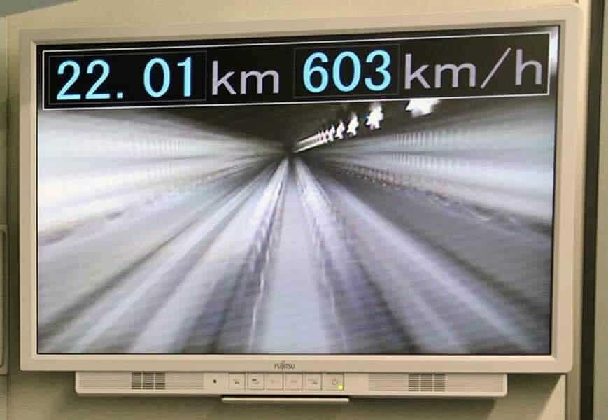 Shinkansen from Tokyo to Osaka