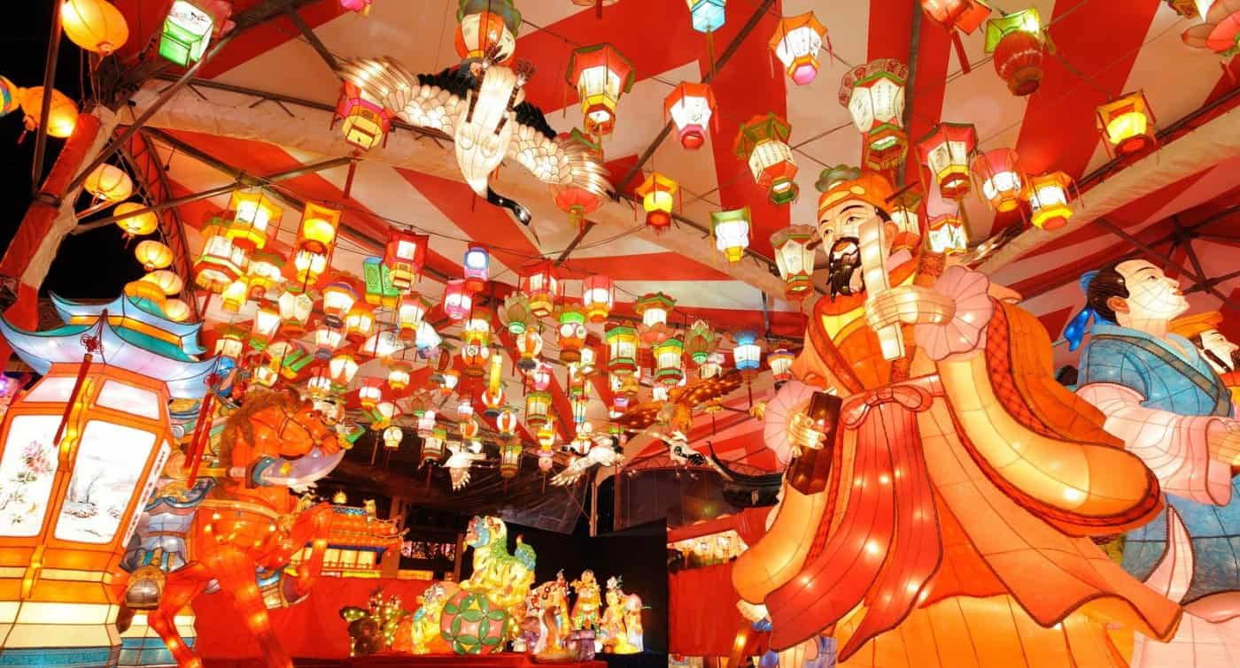 เทศกาลปล่อยโคม ญี่ปุ่น 2020 - เทศกาลโคมนางาซากิ (Nagasaki Lantern Festival)