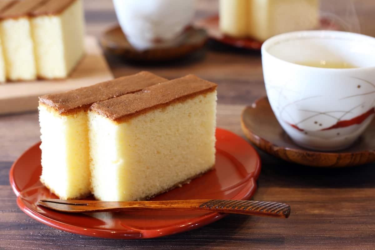 เค้กคาสเทลล่า ของกิน นางาซากิ