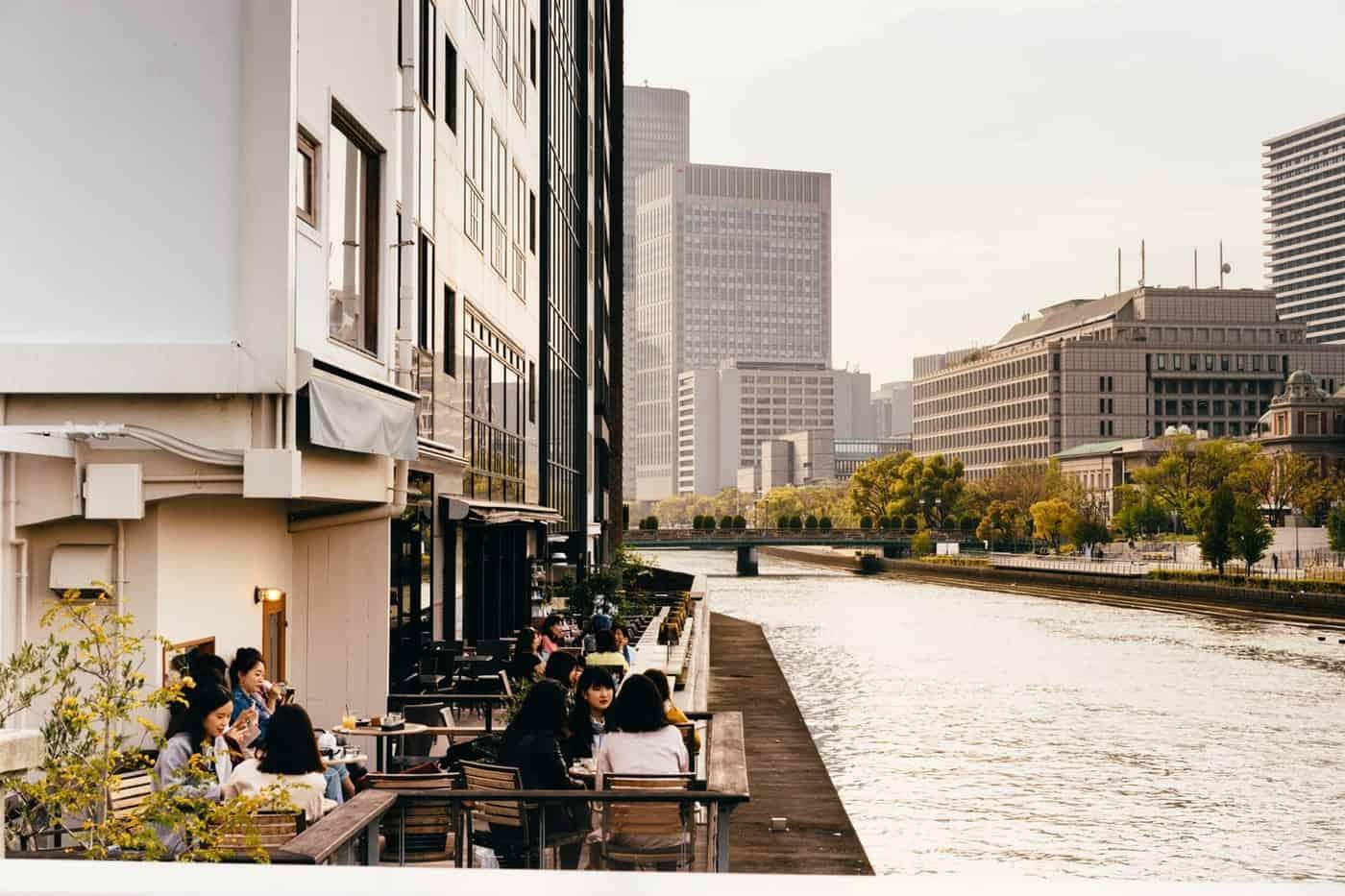 Cafe hopping in Osaka