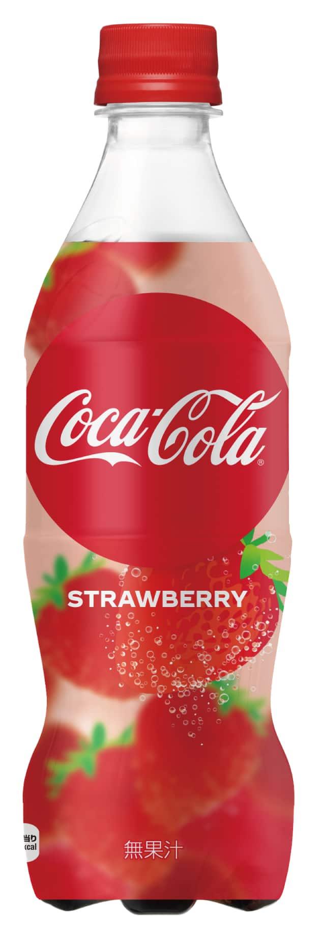 Coca-Cola Strawberry japan
