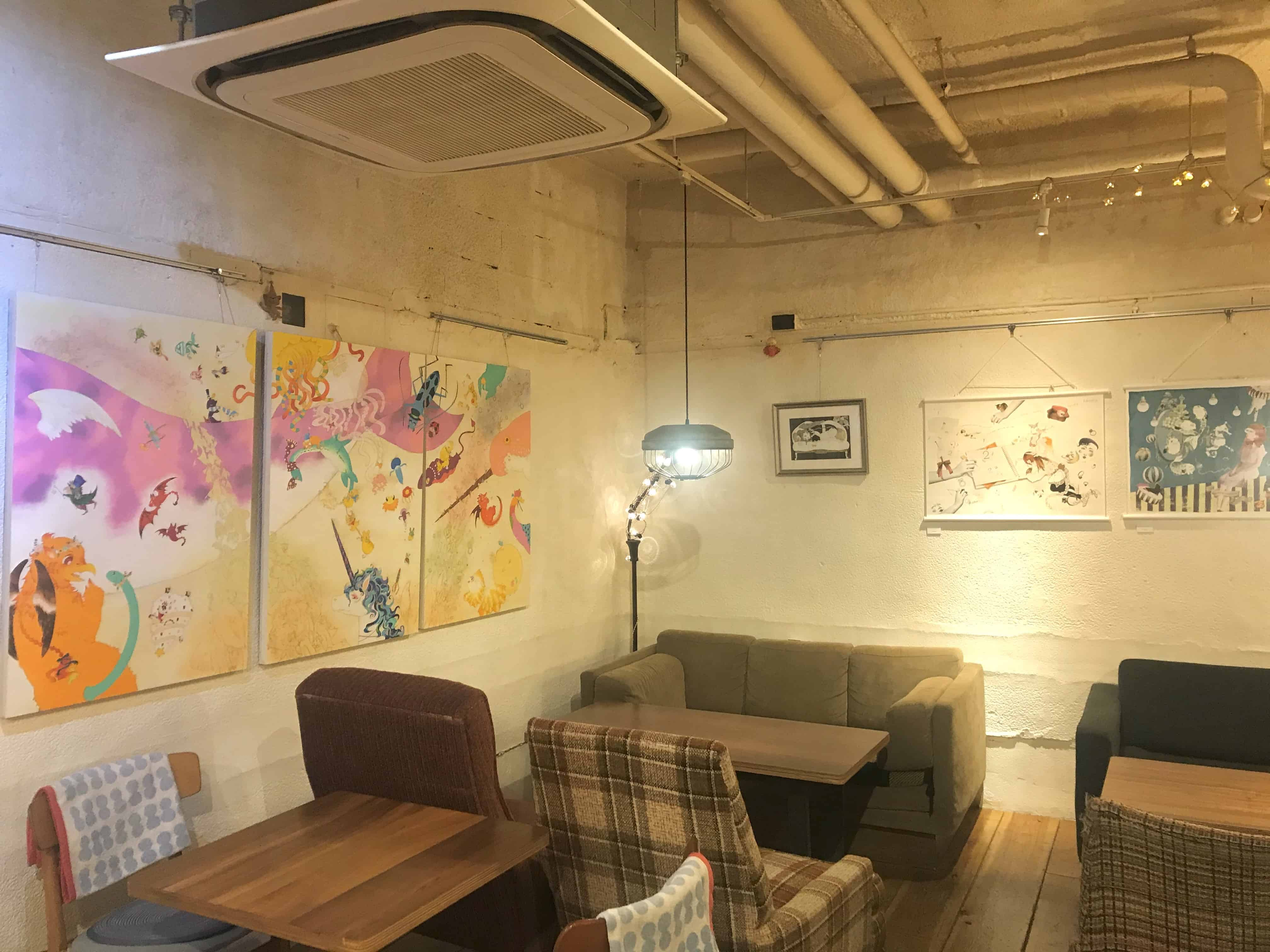 LGBT Cafe in Tokyo : สคอปคาเฟ่ (Scopp Cafe)