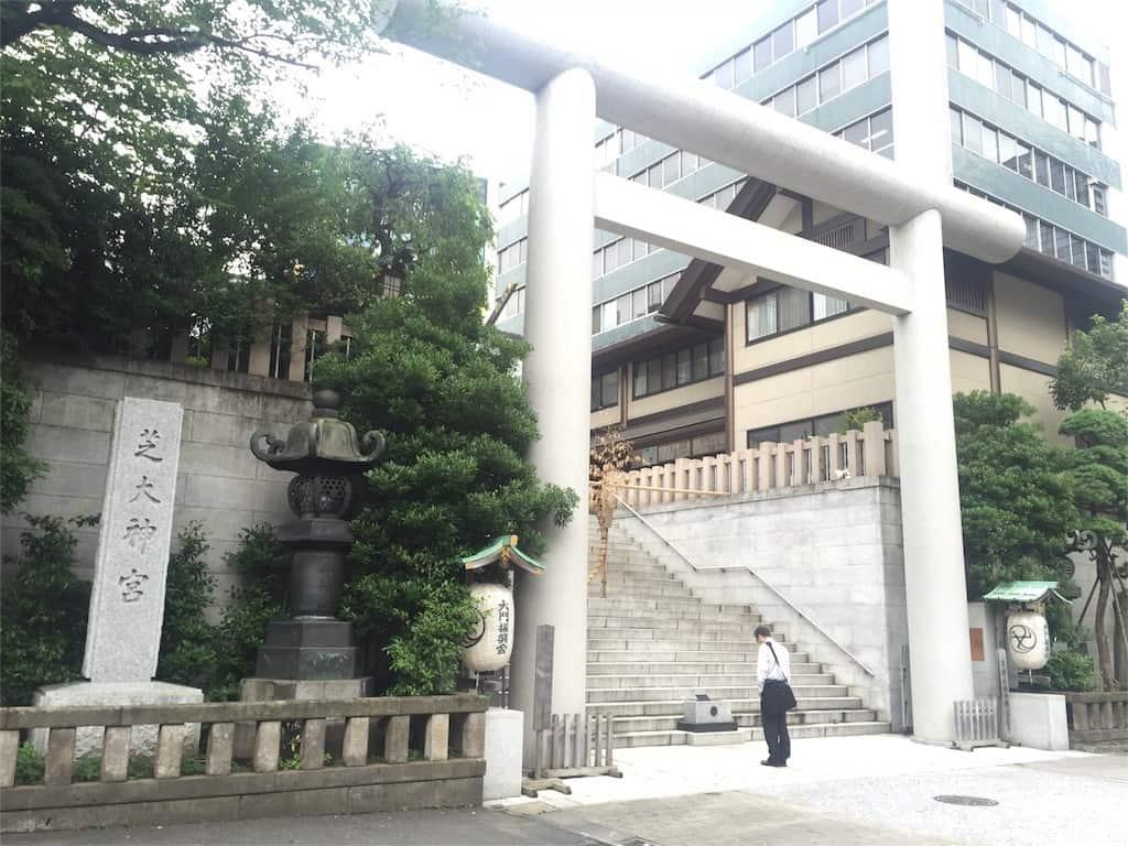วัด ศาลเจ้า ชิบะ ไดจินกู (Shiba Daijingu) ขอผู้ ขอพรความรัก โตเกียว