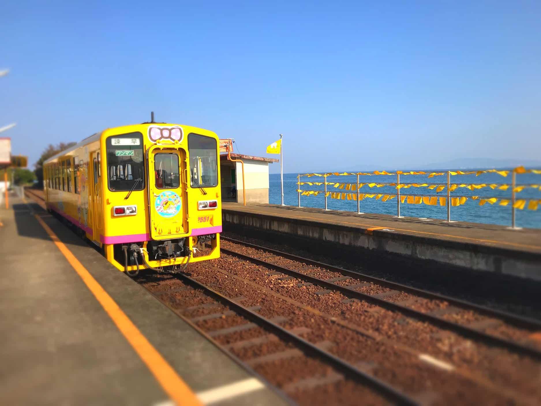 รถไฟ Shimatetsu Cafe Train นางาซากิ