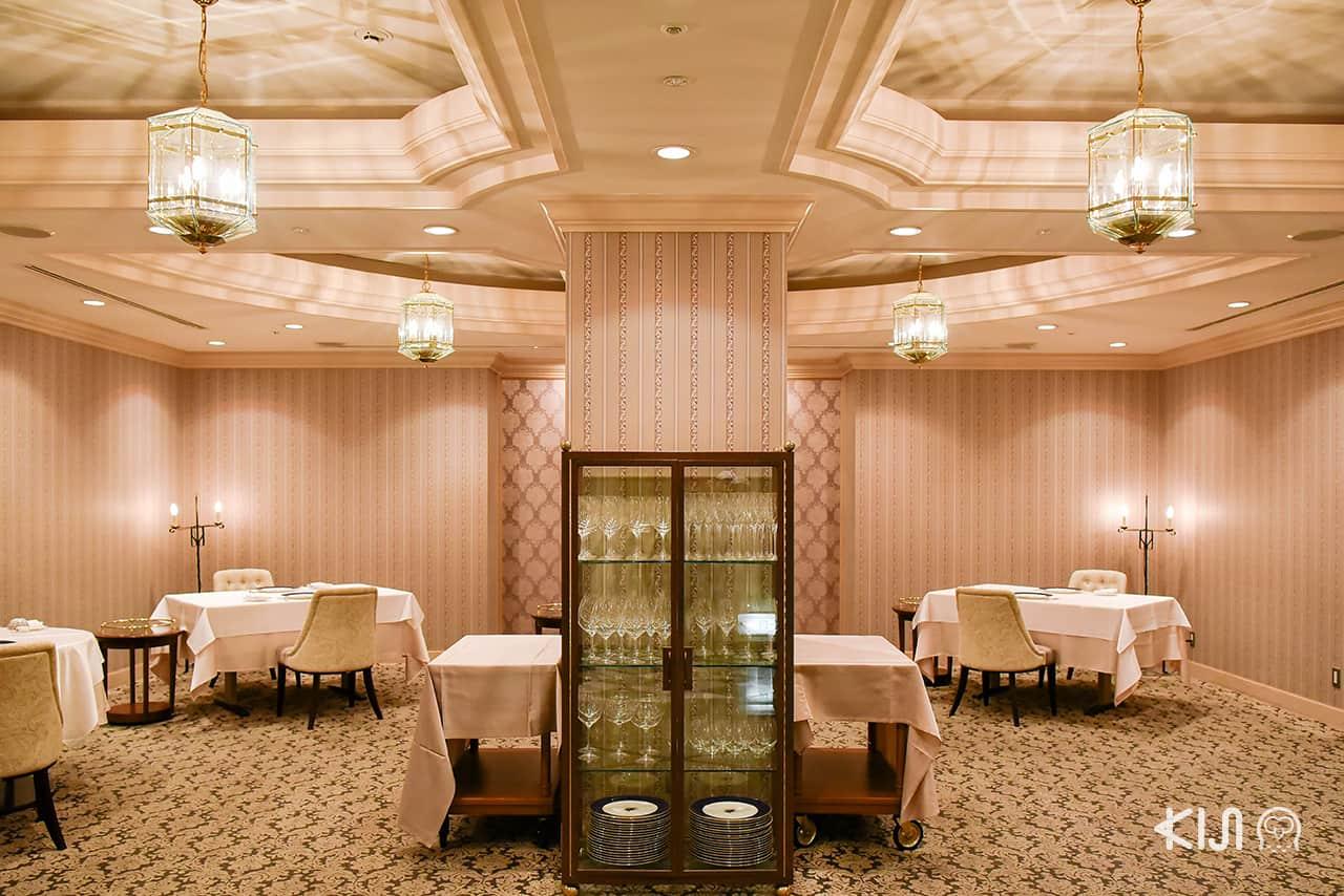 ห้องอาหารฝรั่งเศสของ Hotel Metropolitan Morioka (New Wing)
