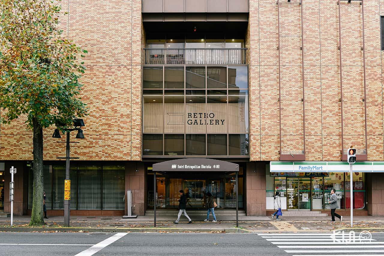 ทางเข้าอีกฝั่งที่ไม่ได้เชื่อมสถานีรถไฟของ Hotel Metropolitan Morioka (Main Building)