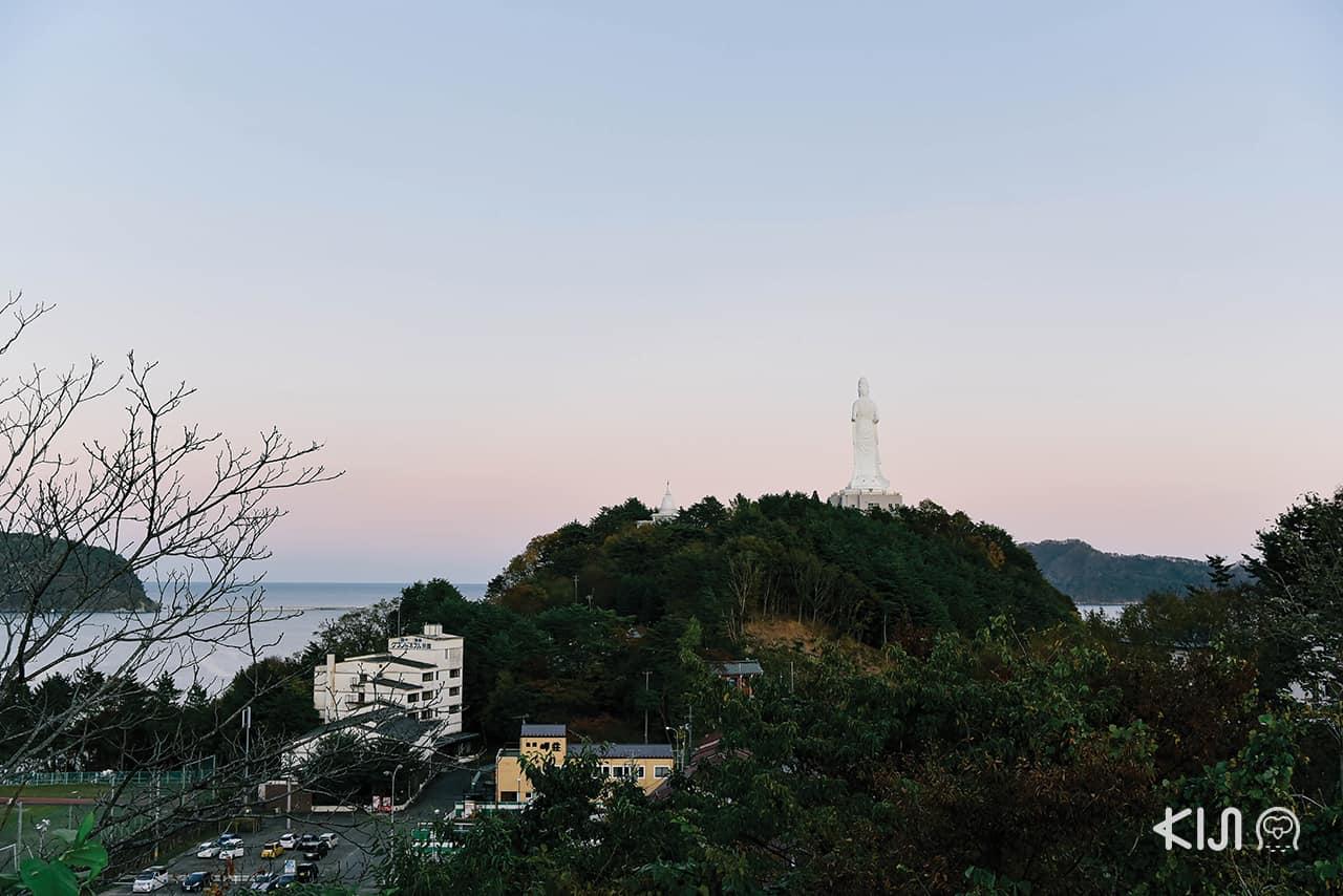 Kamaishi Daikannon Temple จ.อิวาเตะ