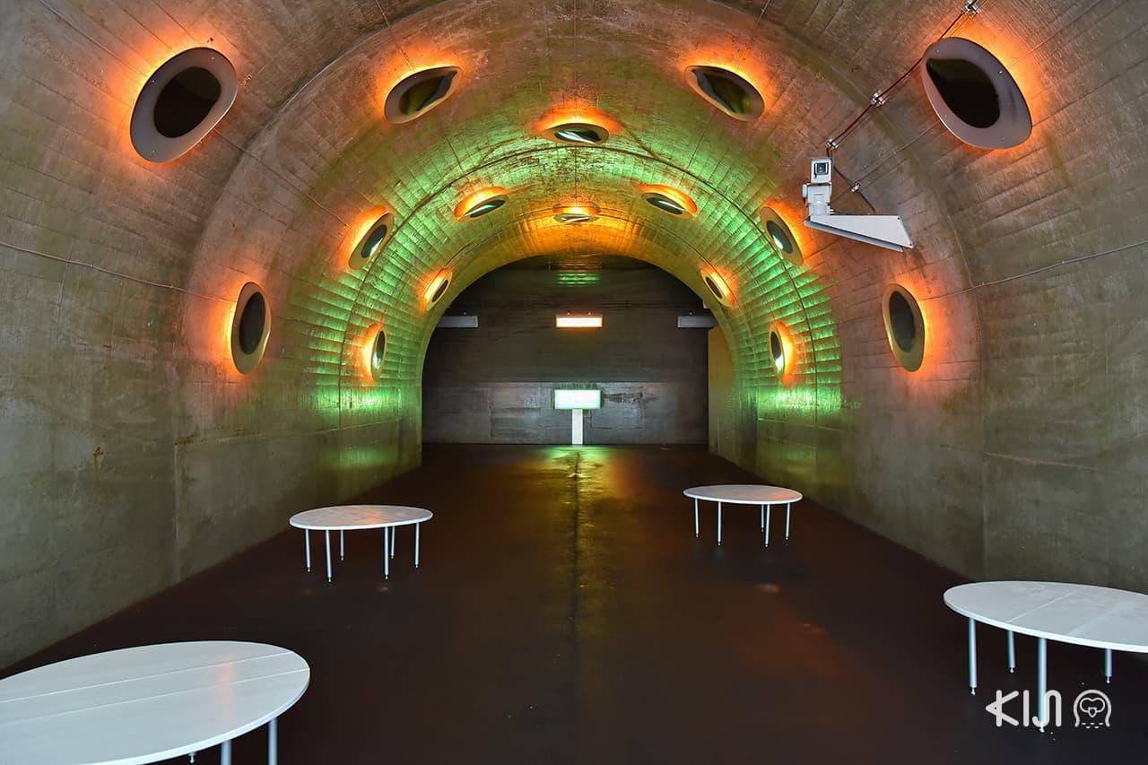 "Echigo-Tsumari Art Field - Tunnel of Light แพลตฟอร์ม 3 ""Drop"""