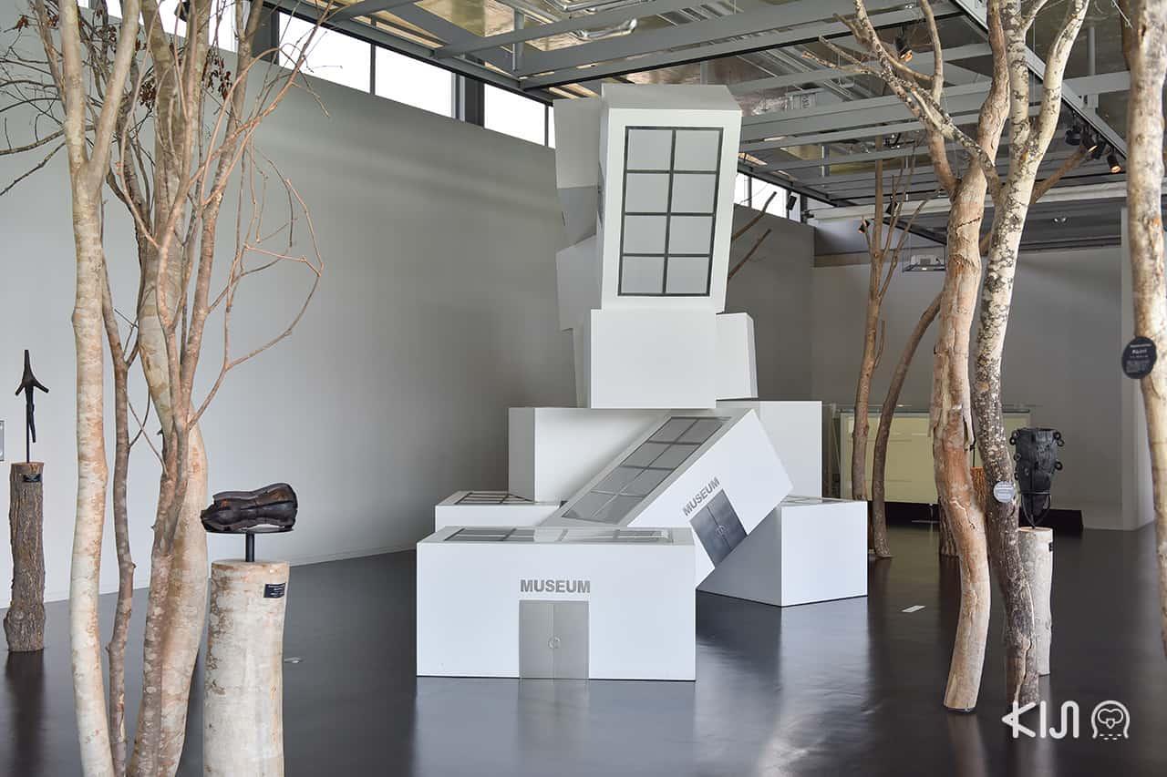 นิทรรศการศิลปะ ที่ Satoyama Museum of Contemporary Art