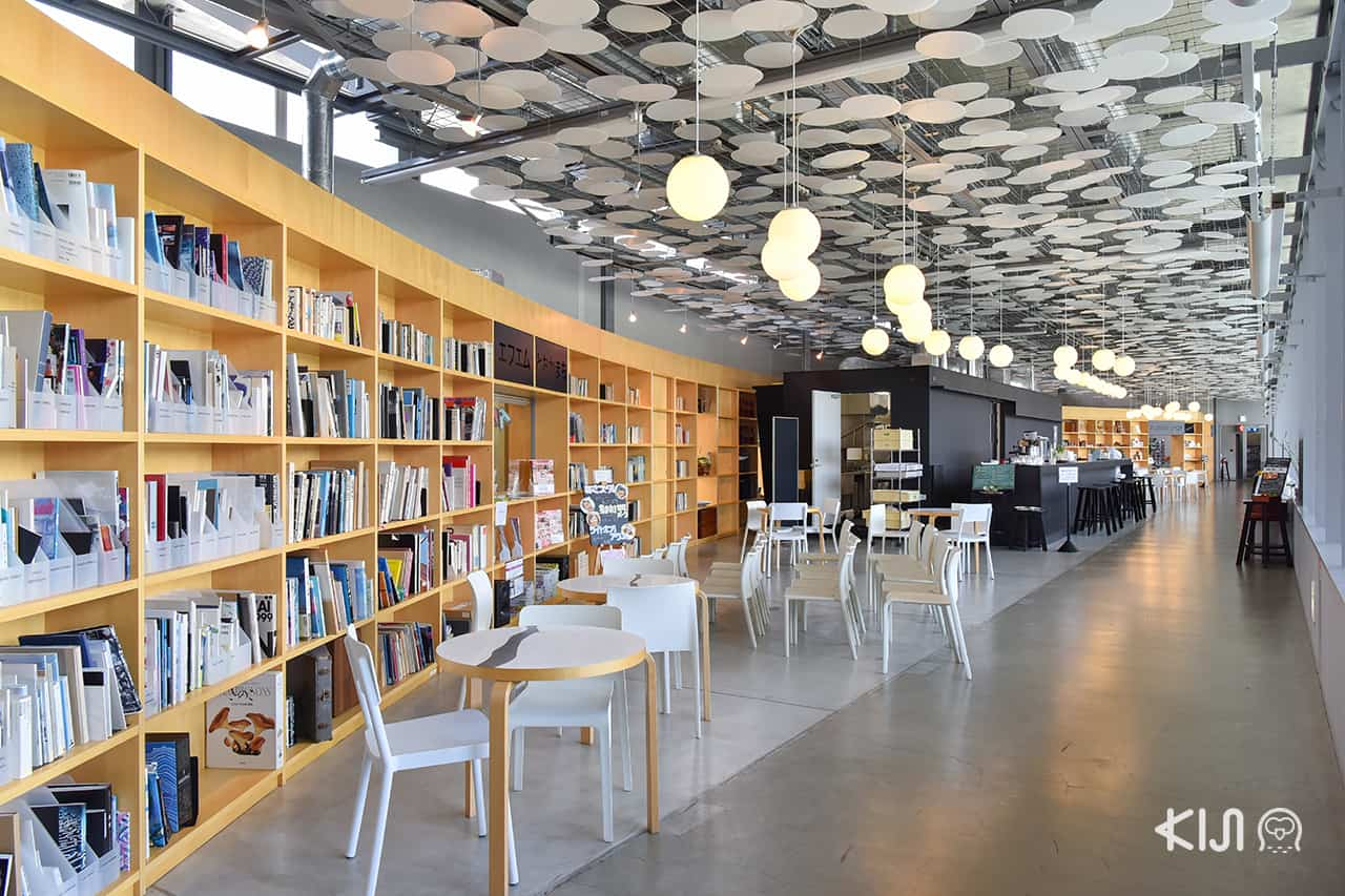 ห้องสมุด ภายใน Echigo Shinanogawa Bar