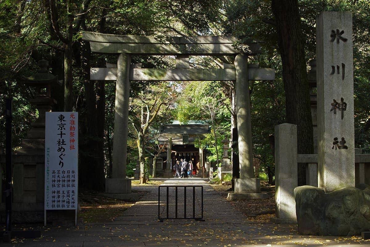 ศาลเจ้าอากาซากะ ฮิกาวะ (Akasaka Hikawa Shrine) โตเกียว