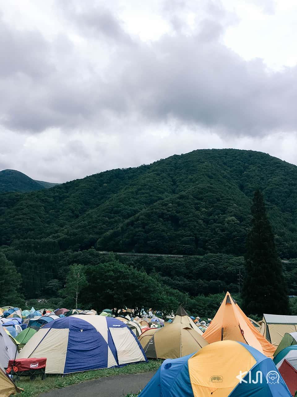วิธีเตรียมตัวไป Fuji Rock Festival
