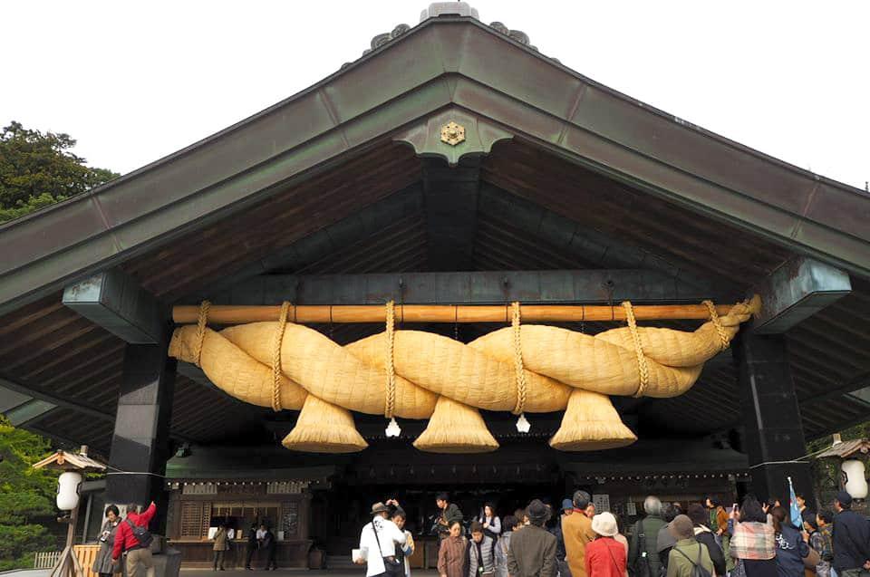 ศาลเจ้าอิซึโมะ (Izumo Taisha) ในชิมาเนะ Shimane