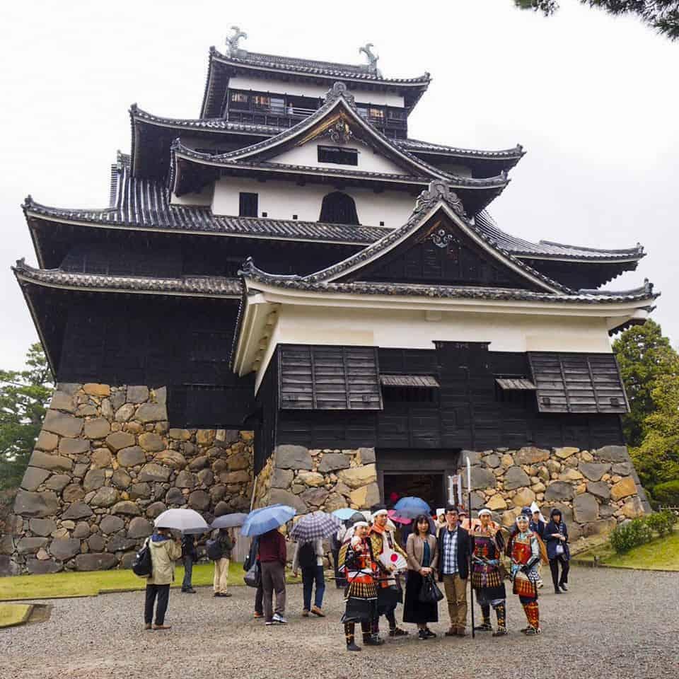 ปราสาทมัตสึเอะ (Matsue-jo Castle) แหล่งท่องเที่ยวทางประวัติศาสตร์ของชิมาเนะ Shimane