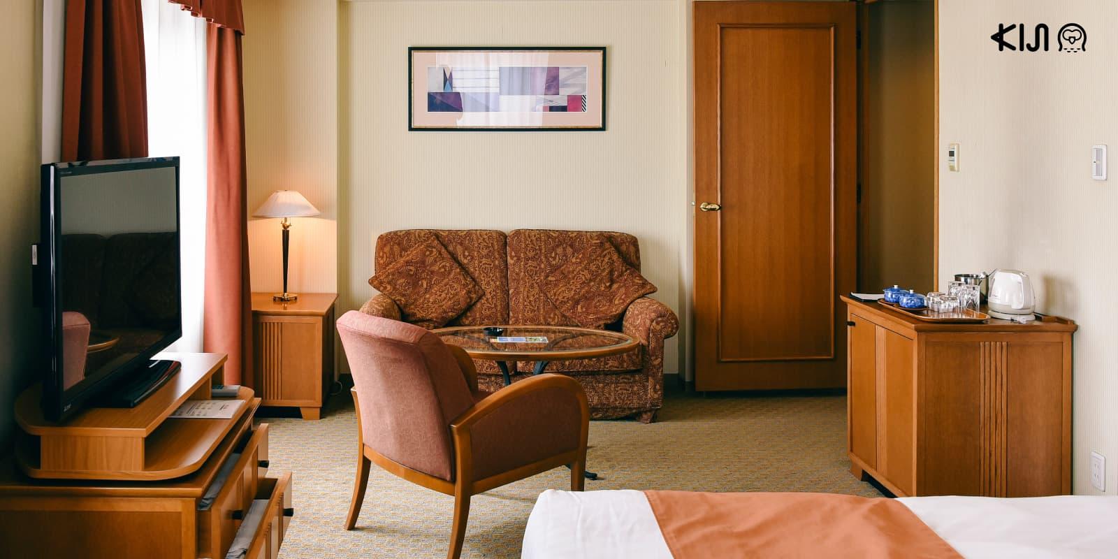 ห้องพักสุดหรูของ Hotel Metropolitan Morioka โรงแรมติดสถานีโมริโอกะ
