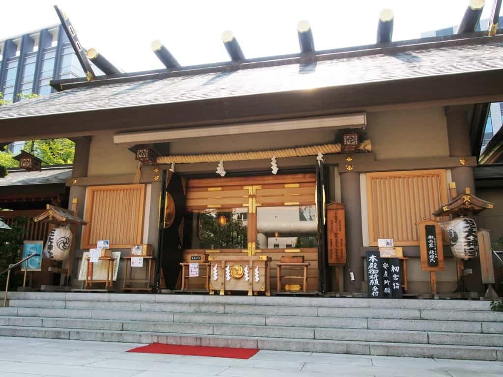 ศาลเจ้า ชิบะ ไดจินกู (Shiba Daijingu) โตเกียว