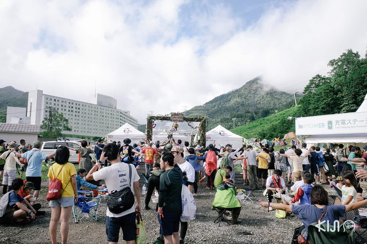 บรรยากาศวันที่ 2 ของ Fuji Rock Festival 2019
