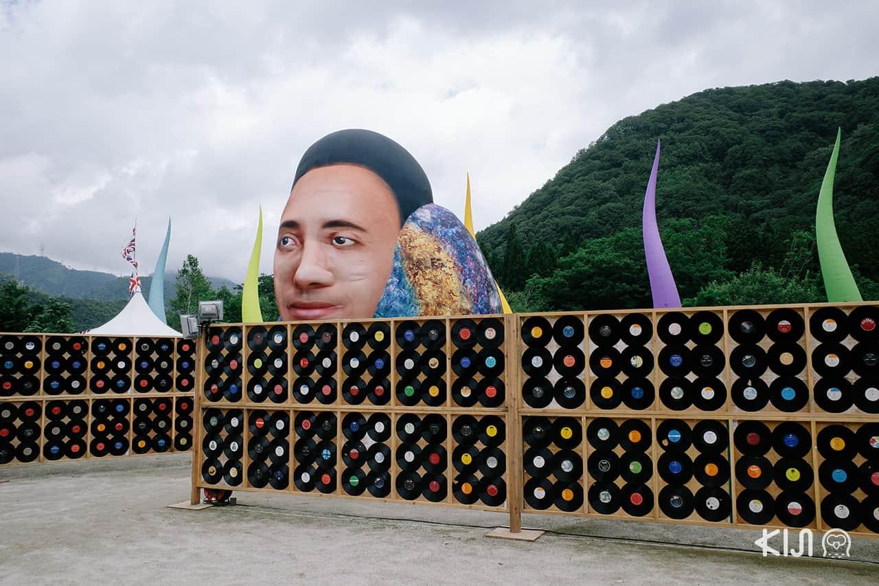 การตกแต่งภายใน Fuji Rock Festival 2019