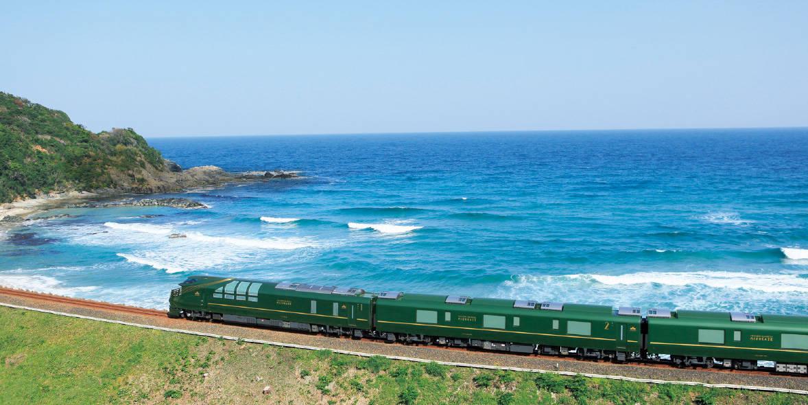 นั่งรถไฟ Twilight Express Mizukaze เที่ยวยามากุจิ