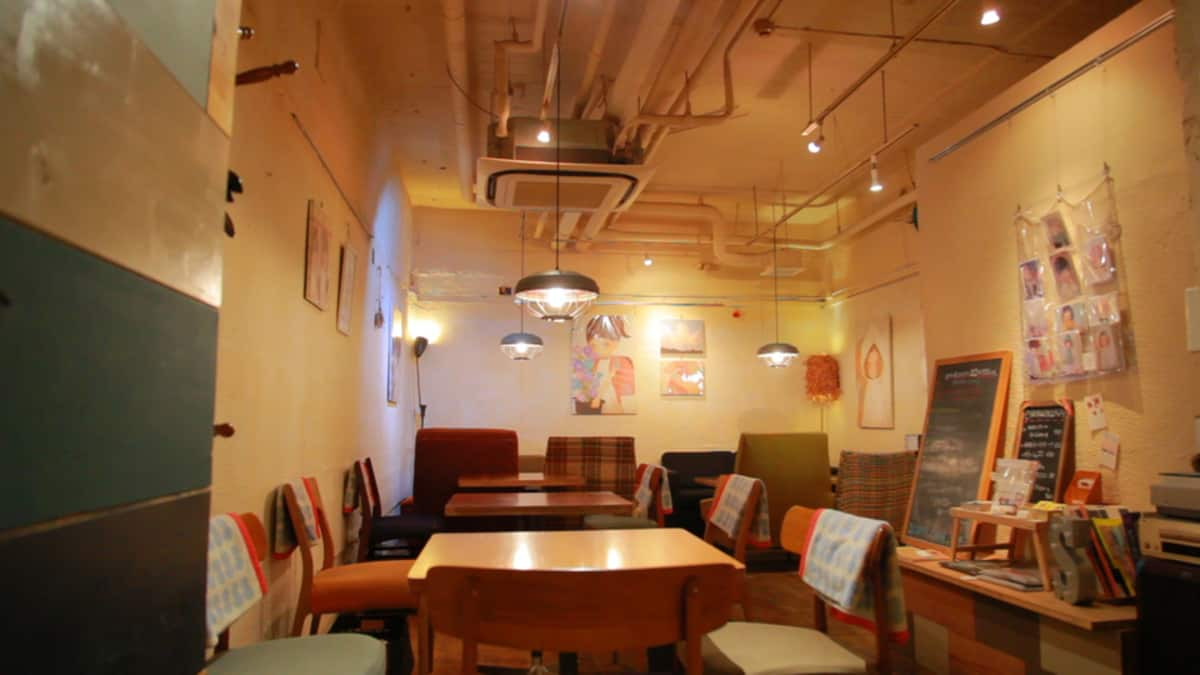 LGBT คาเฟ่ โตเกียว : สคอปคาเฟ่ (Scopp Cafe)